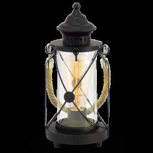 Bradford 49283 lampa stołowa vintage Eglo