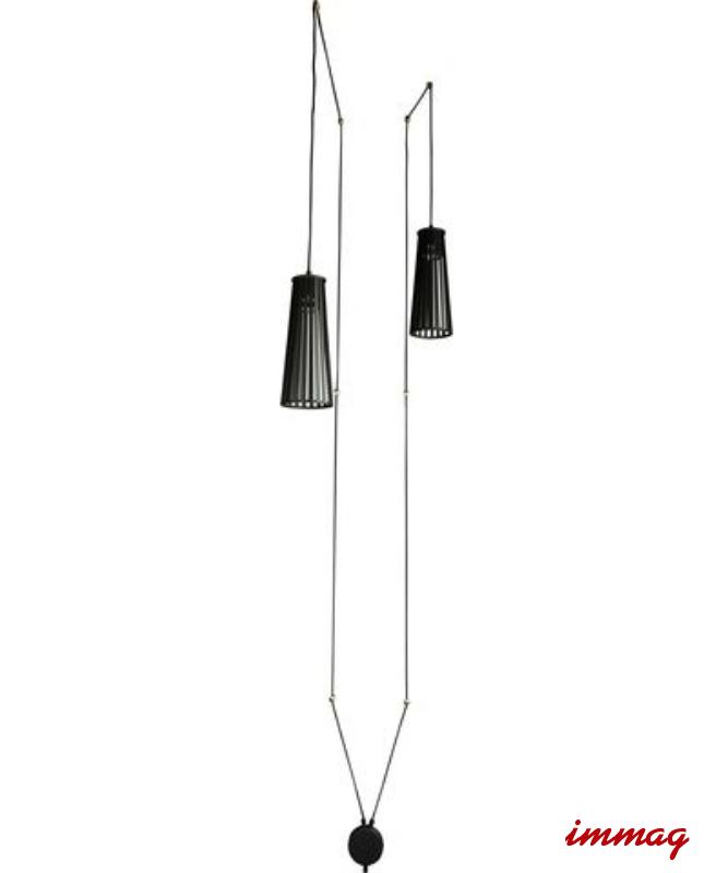 Inne rodzaje DOVER BLACK II kabel 9263 kinkiet z przewodem czarny NOWODVORSKI RK26
