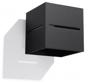 LOBO  SL.0204  kinkiet czarny  SOLLUX lighting